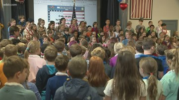 East Tennessee students honor veterans ahead of Veterans Day