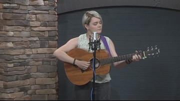 Pigeon Forge to help artists find path to fame: musician Brenna Beatty performs new song