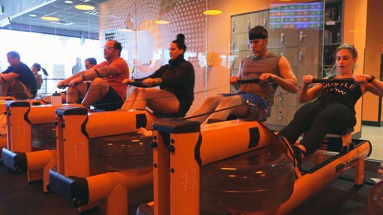 Orange Theory Fitness Rowing Bearden