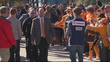 Vol Walk: Missouri game 2018