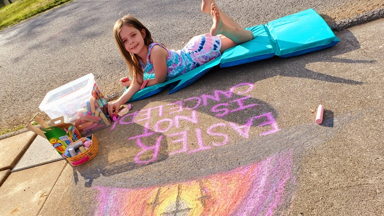 Start your own chalk walk! Share your photos with us