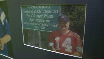 Sports fan who holds memorabilia record highlighted at Ripley's in Gatlinburg