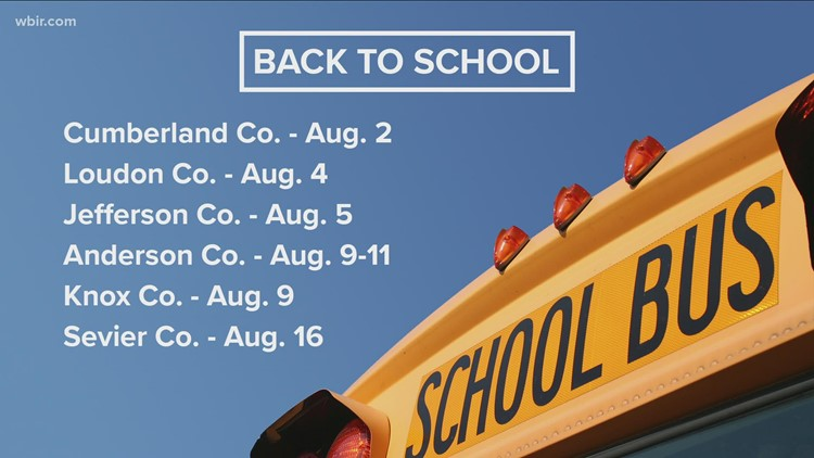 Loudon County students head back to school