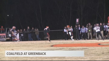 Greenback 35, Coalfield 7