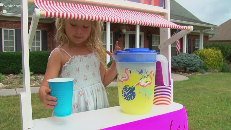 6-year-old girl from Maryville raises more than $1,500 for St. Jude with her lemonade stand