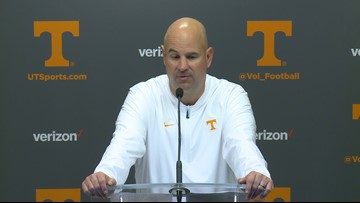 Jeremy Pruitt on Vol Walk pep talk