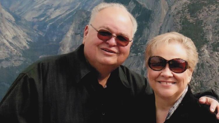 Ken Bennett with his late-wife Jeanette Bennett.
