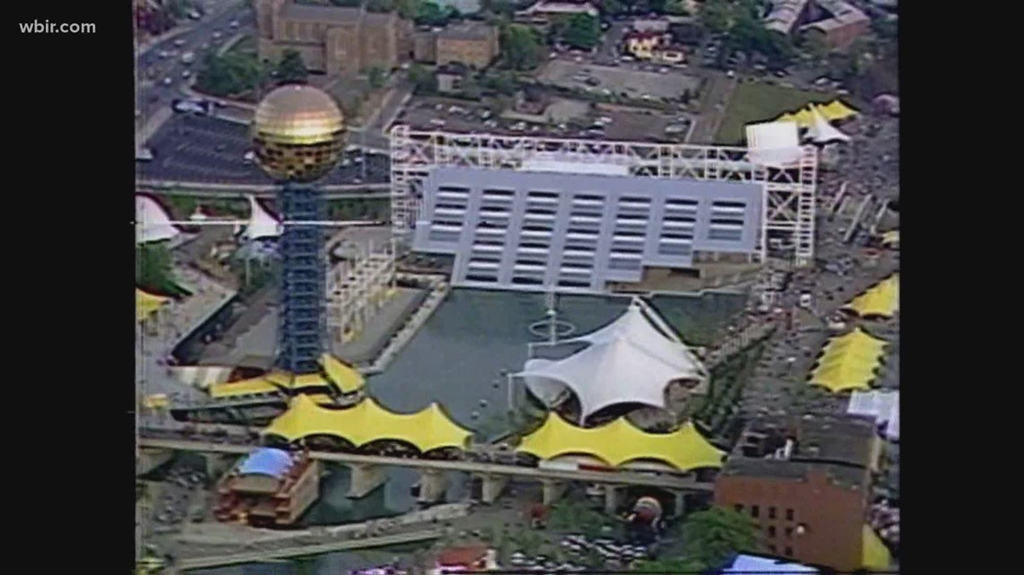Looking back! It's the 39th anniversary of the World's Fair in Knoxville