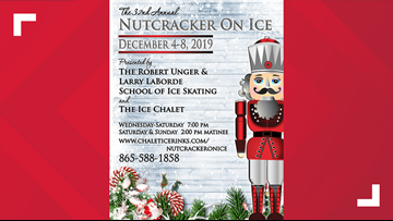 Ice Chalet's Nutcracker on Ice begins Wednesday