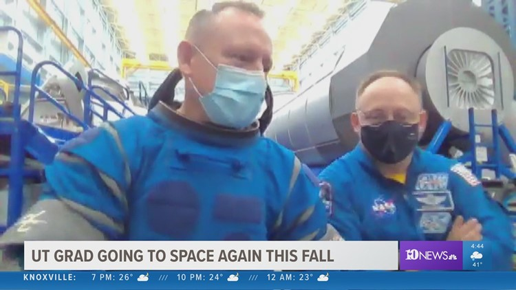 UT Graduate preps for upcoming NASA space mission