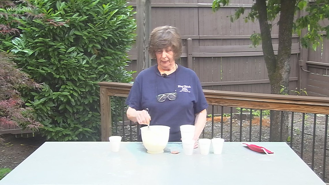 Miss Olivia shares a homemade french salad dressing