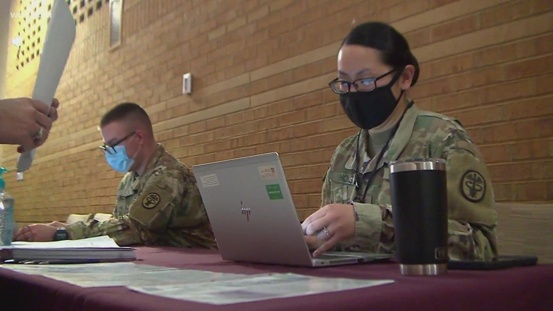 TN National Guard supporting ten more medical centers around state