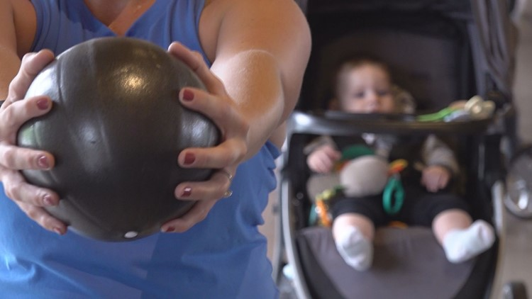 Stroller sweat sesh: Workout class brings friendship and fitness to moms