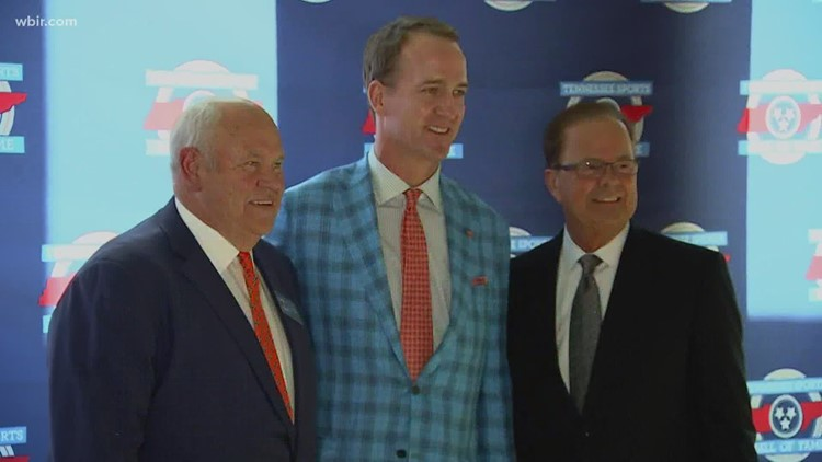 Peyton Manning named to Pro Football Hall of Fame