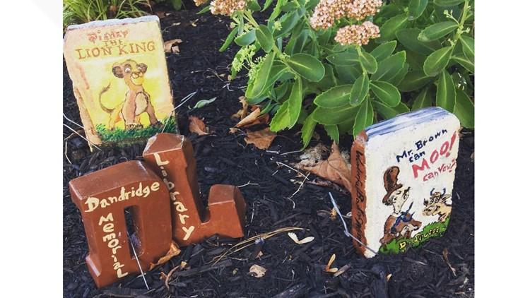 Story Stones at Dandridge library