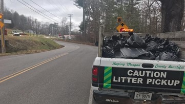 Keep Morgan County Beautiful picks up more than 3,000 pounds of litter