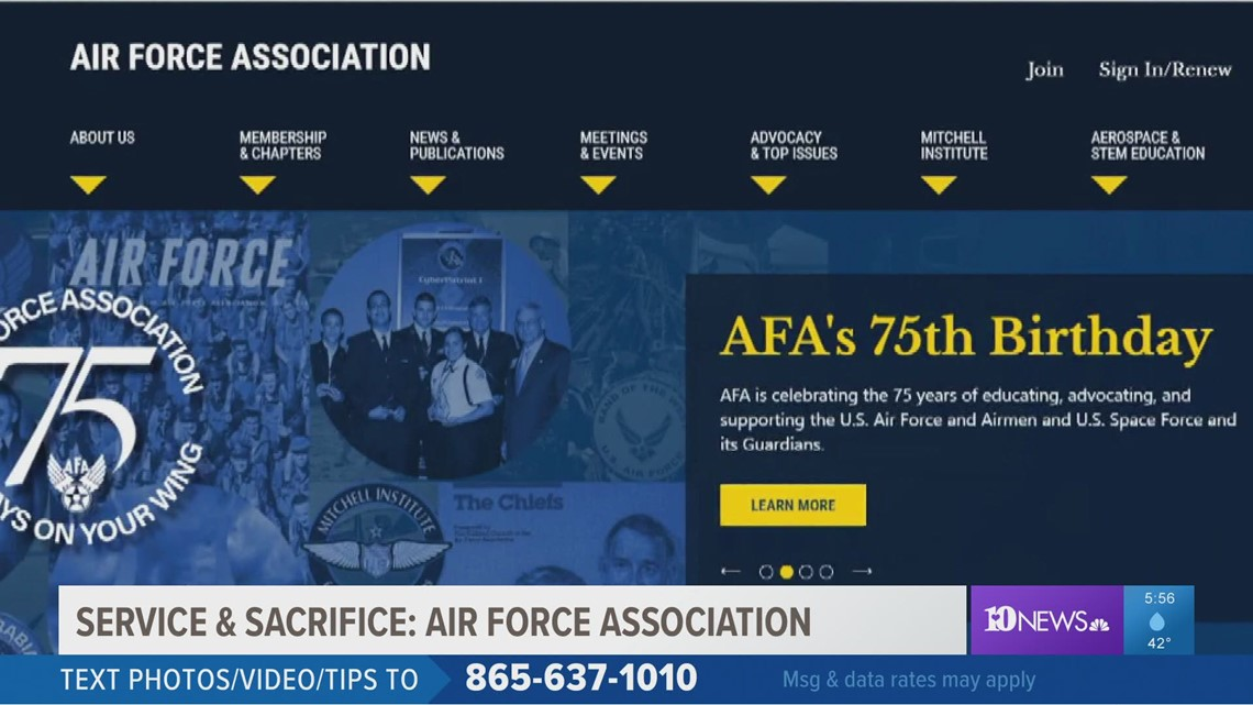Service & Sacrifice: The Air Force Association