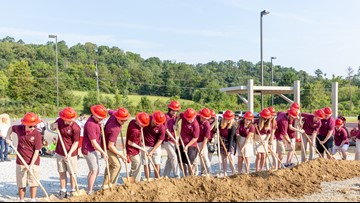 Construction begins on Clayton-Bradley Academy expansion