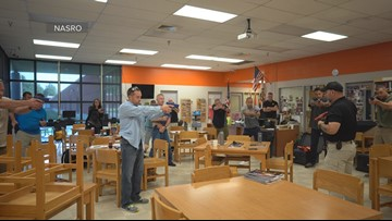 School resource officers learning how to stop school shootings before they start