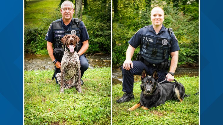 Blount County Sheriff's Office welcomes 2 new K-9s