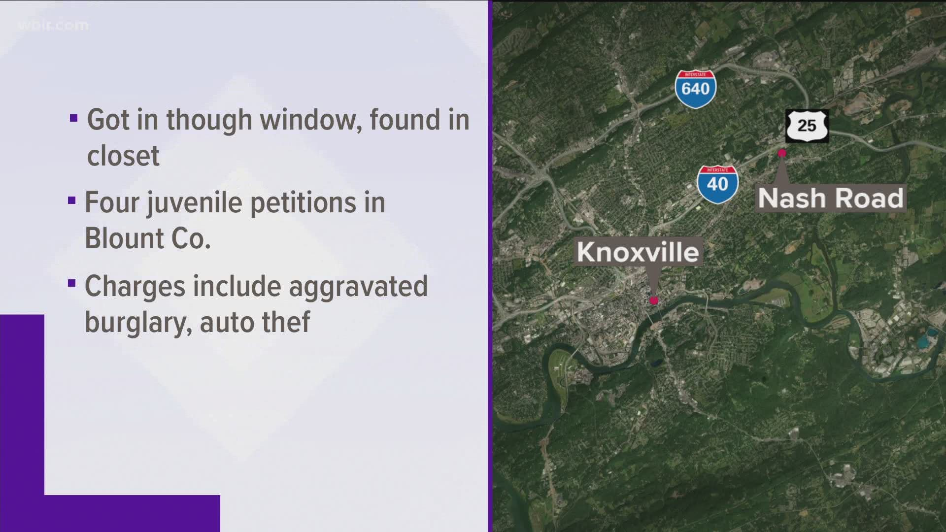 Kpd Arrests 17 Year Old Suspected Of Burglarizing East Knoxville Home Wbir Com