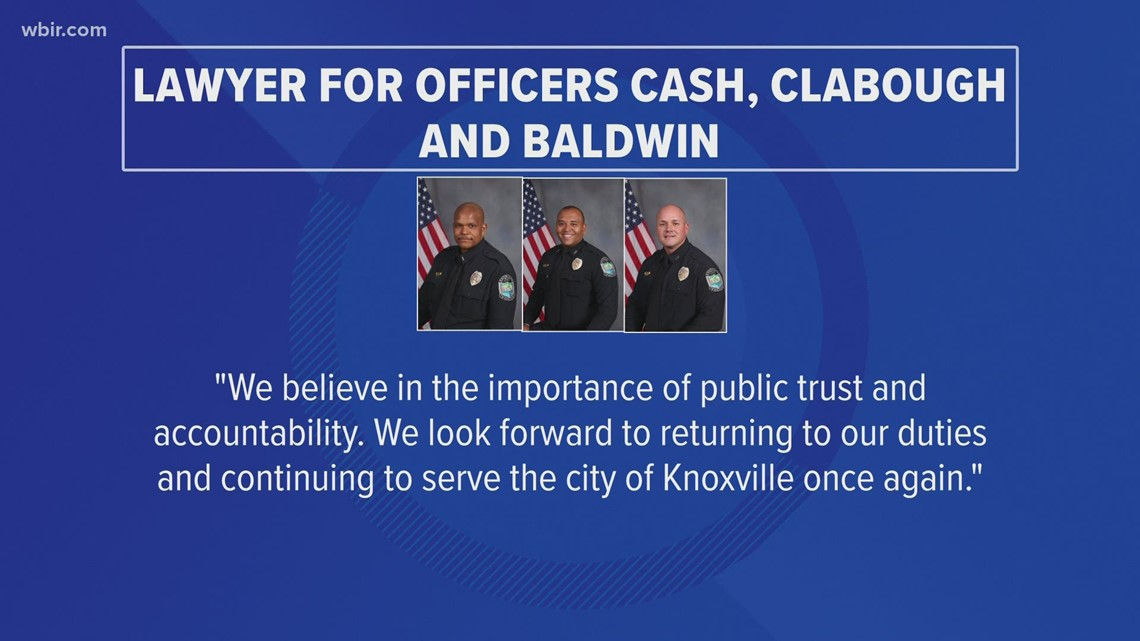 Police chief & officers' lawyers give statements after Austin-East bodycam video release
