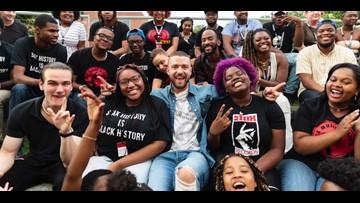 Justin Timberlake, Timbaland surprise students at Stax Music Academy