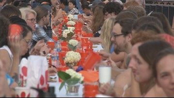 UT invites diverse group of 500 people to dinner for United at the Table
