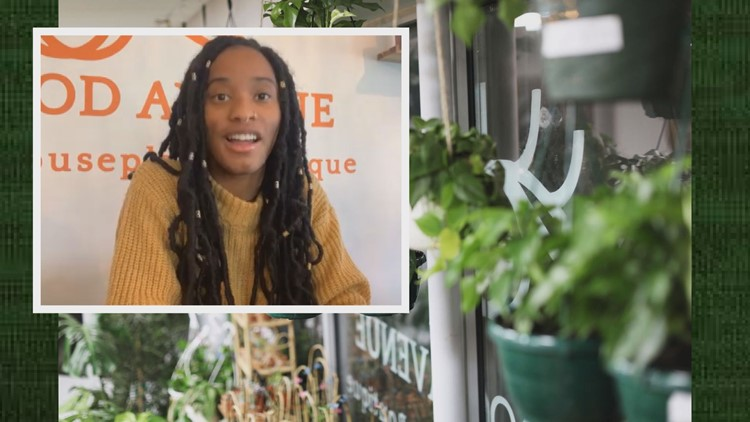 A self-proclaimed 'Plant Parent' grew her love of houseplants into a business