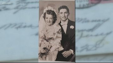 WWII love letters found in Sevier County