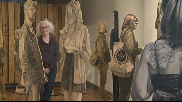 Knoxville artist turns strangers into masterpieces