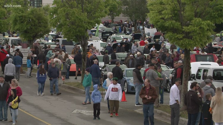 Thousands show up for 'Cars and Coffee' event