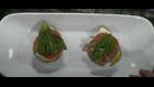 In the kitchen: Mini zucchini and prosciutto caprese stacks