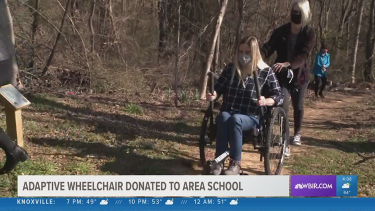 Legacy Parks Foundation donates adaptive wheelchair to Dogwood Elementary School
