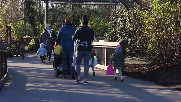 400 egg hunters celebrate Easter at Zoo Knoxville in sold-out event