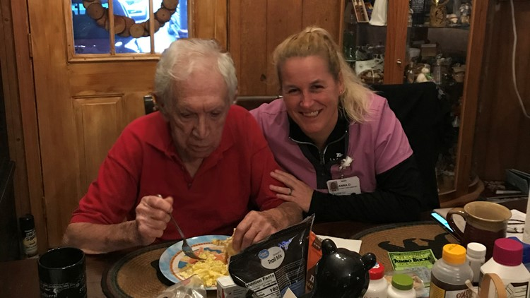 Leroy Hallcox and Anna Dobos fire rescue hammer roane county