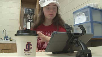 JCHS Special Education students serve up smiles with 'Patriot Perk' coffee shop