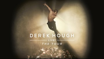 Enter to win tickets to Derek Hough Live! The Tour
