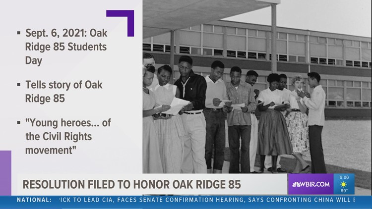 Resolution filed to honor the Oak Ridge 85
