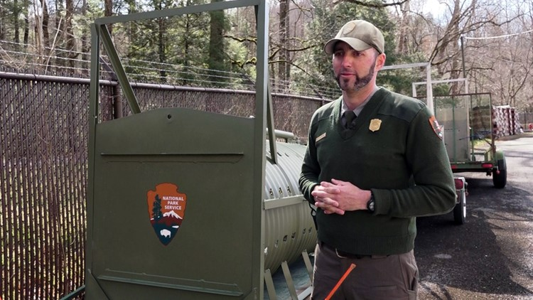 Ryan Williamson GSMNP Biologist Bear Traps