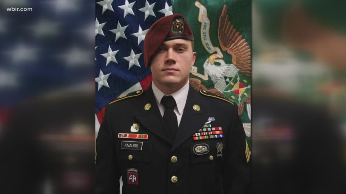 Army Staff Sergeant Ryan Knauss to be laid to rest in Arlington
