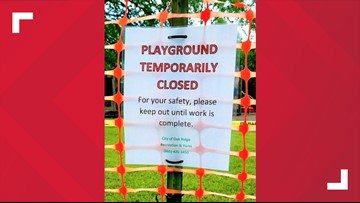 Oak Ridge playground closes temporarily