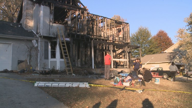 Pay it Forward: Community responds when veteran & family lose home in fire