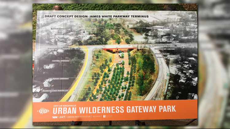 Preliminary renderings of the gateway project.