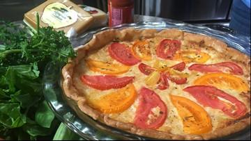 Buffalo Mountain Tomato Pie