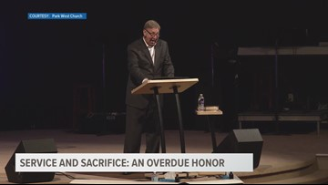 Service and Sacrifice: An overdue honor