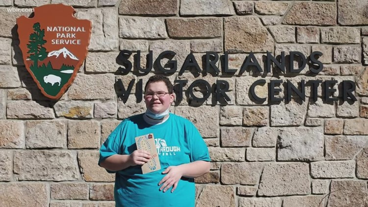 Teen with autism hikes 100 miles in Great Smoky Mountains National park