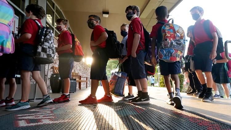 Lista de escuelas del Este de Tennessee requiriendo mascarillas