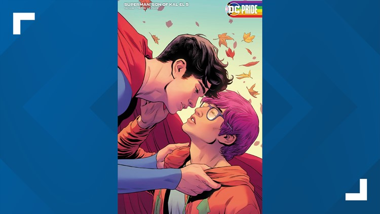 'Superman' writer reacts to support for new bisexual superhero