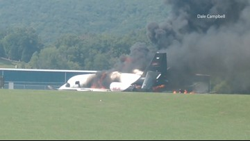 'I can't believe it's crashing': Witness describes moment Dale Earnhardt Jr.'s plane crashed